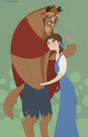 Beauty and the Beast by spicysteweddemon