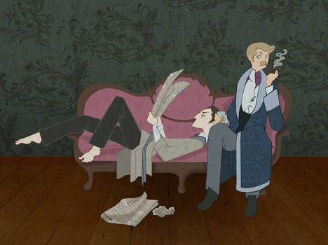 Domesticity- Holmes and Watson