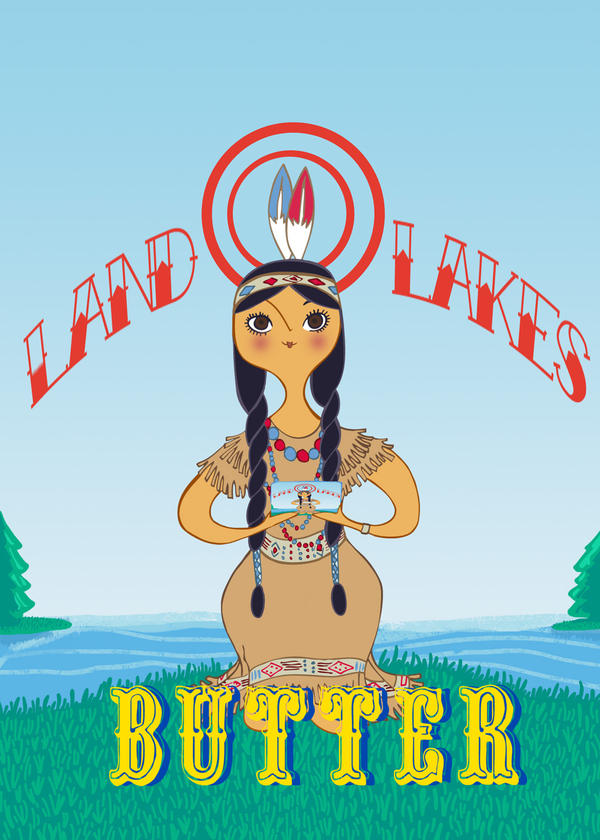 Land o lakes girl