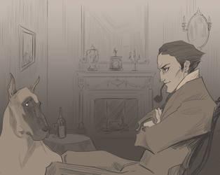 Holmes Interrogates by spicysteweddemon