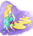 Disgruntled Rapunzel