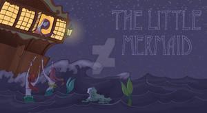Book Art- Little Mermaid
