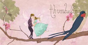 Book Art- Thumbelina