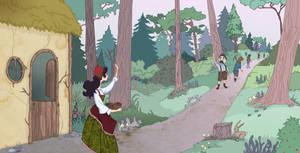 Book Art- Snow White by spicysteweddemon