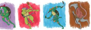 Run Turtles Run by spicysteweddemon