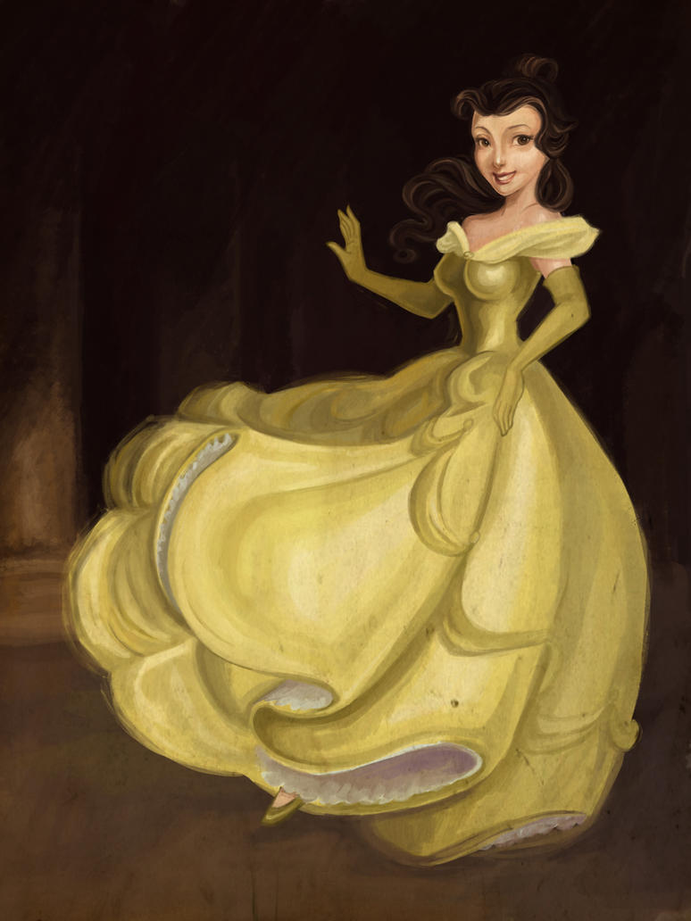 belle coloring page by spicysteweddemon on deviantart