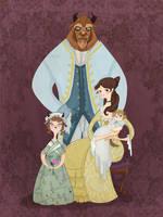 Beastly Family Portrait by spicysteweddemon