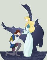 The Swan Princess by spicysteweddemon
