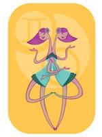 Zodiac: Gemini by spicysteweddemon