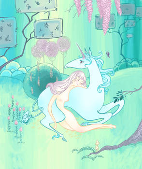 The Last Unicorn by spicysteweddemon