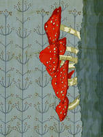 Pattern Design- Mushrooms by spicysteweddemon