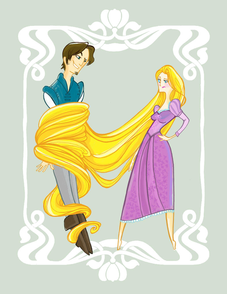 Disney's Tangled by spicysteweddemon