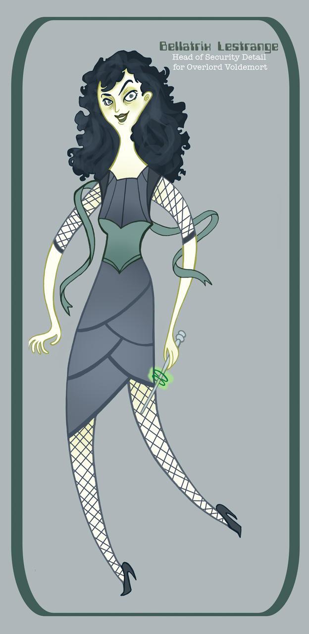 Future Potter- Bellatrix by spicysteweddemon