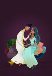 Disney Wedding: Aladdin