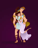 Disney Wedding: Hercules by spicysteweddemon