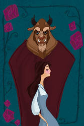 The Belle and the Beast by spicysteweddemon