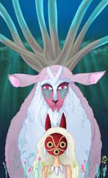 Mononoke Hime by spicysteweddemon
