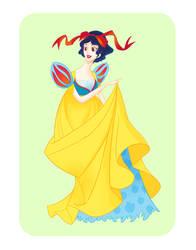 Disney Ball- Snow White by spicysteweddemon