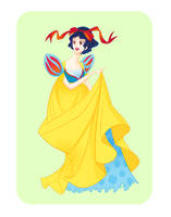Disney Ball- Snow White by spicysteweddemon