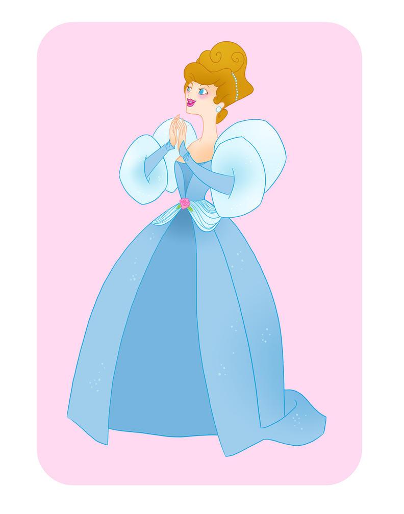 Disney Ball- Cinderella by spicysteweddemon