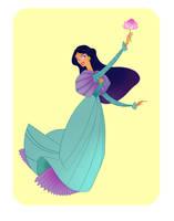 Disney Ball- Jasmine by spicysteweddemon