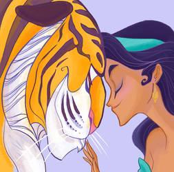 Rajah and Jasmine by spicysteweddemon