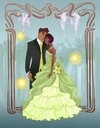 Disney Prom- Frog Princess by spicysteweddemon