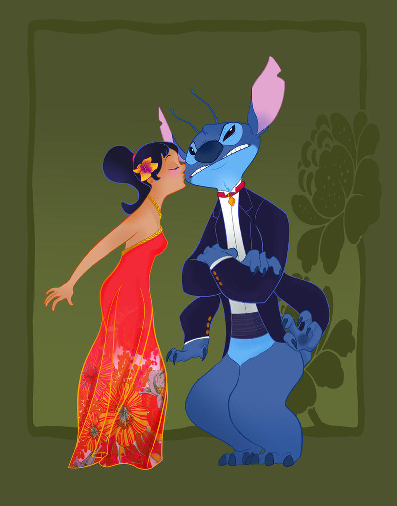 Disney Prom- Lilo and Stitch by spicysteweddemon