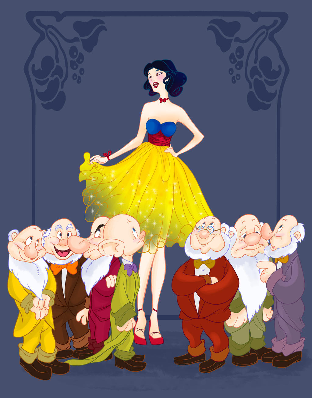Disney Prom- Snow White by spicysteweddemon