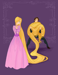 Disney Prom- Tangled by spicysteweddemon