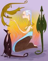 Daenerys Targaryen for Famion by spicysteweddemon