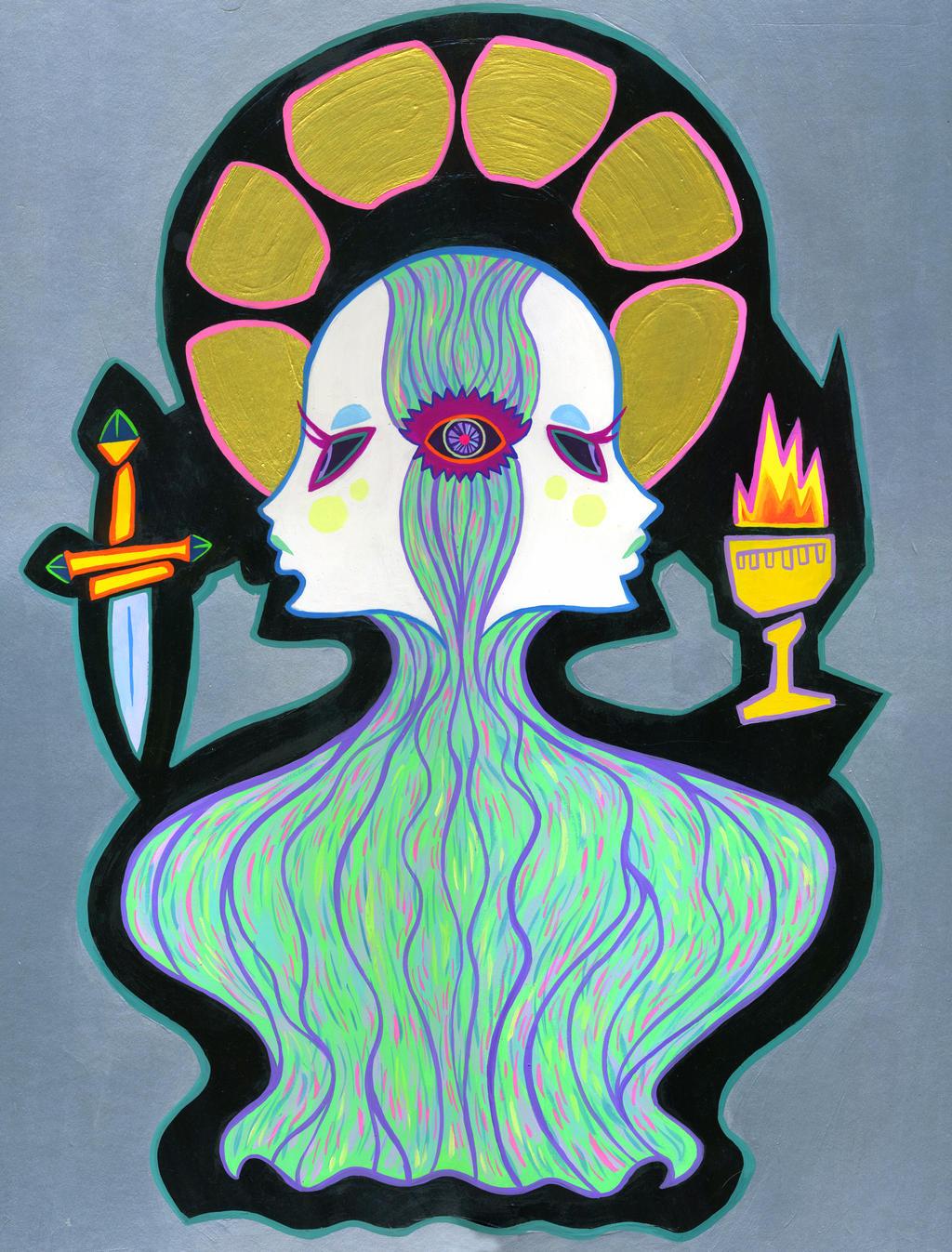 Open the Third Eye by spicysteweddemon