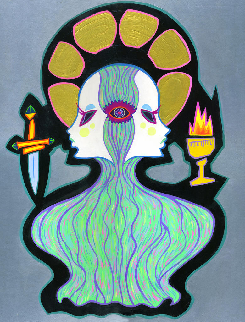 Open the Third Eye by spicysteweddemon