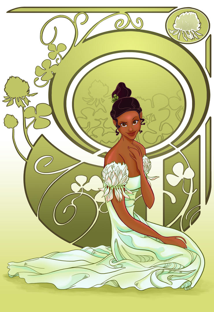 Disney Flowers- Tiana by spicysteweddemon