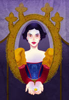 Disney Flowers- Snow White by spicysteweddemon