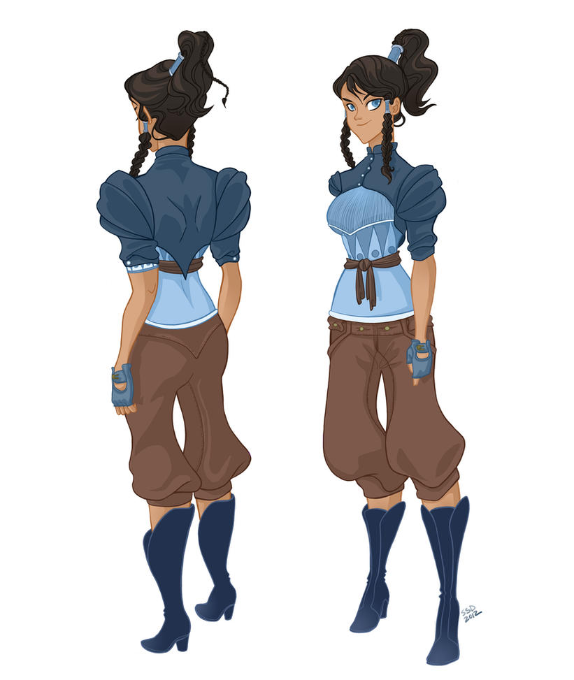 Avatar Korra is a Steam Punk by spicysteweddemon