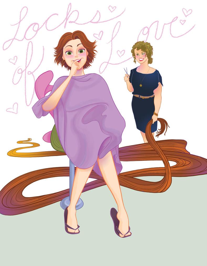 Rapunzel's Love by spicysteweddemon
