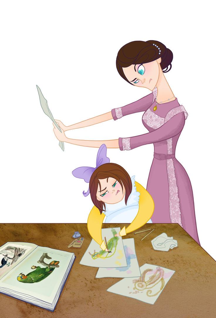 Disney Moms- Jane Porter by spicysteweddemon