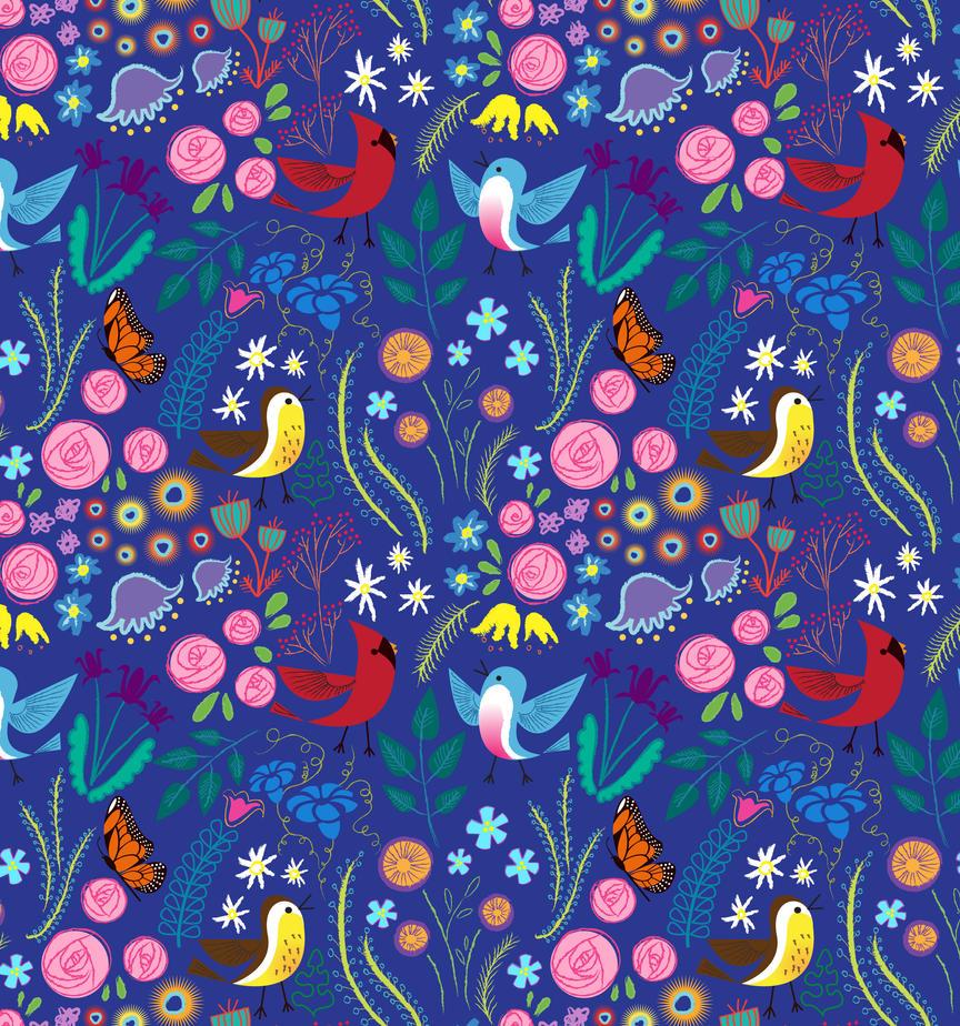 Spring Fling Pattern by spicysteweddemon