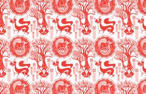 Lucky Foxy Pattern