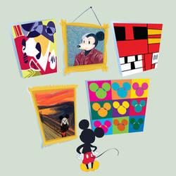 Mickey Gets Art Schooled by spicysteweddemon