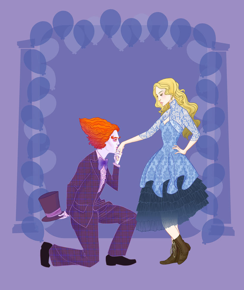 Disney Prom pt 2- Alice in Wonderland by spicysteweddemon
