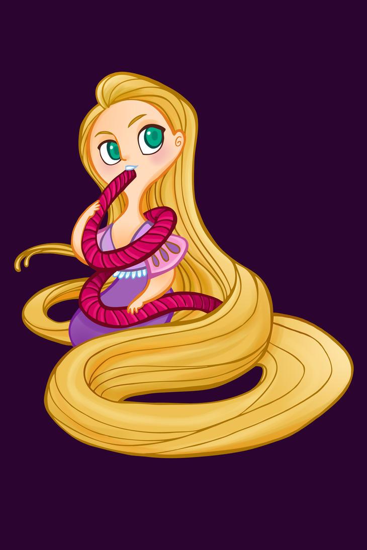 Disney Candy- Twizzler Rapunzel by spicysteweddemon