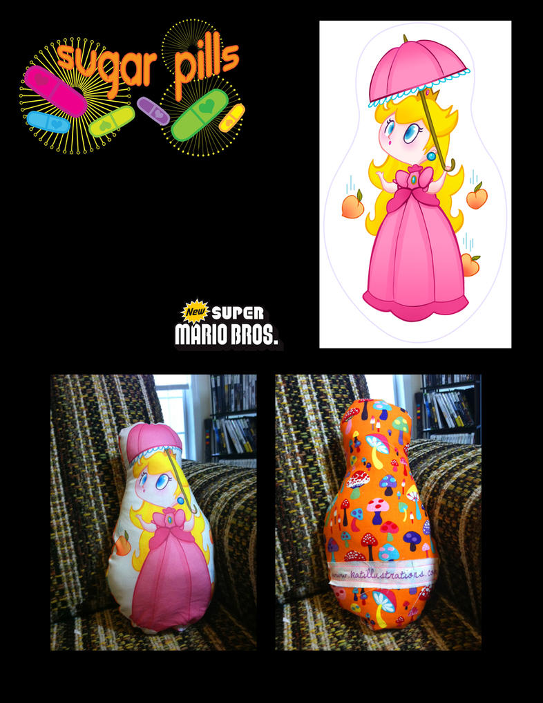 Sugar Pills- Princess Peach by spicysteweddemon