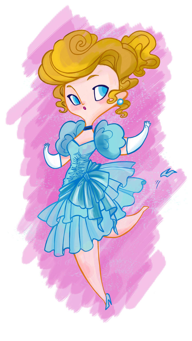 Disney 80's Ladies- Cinderella by spicysteweddemon