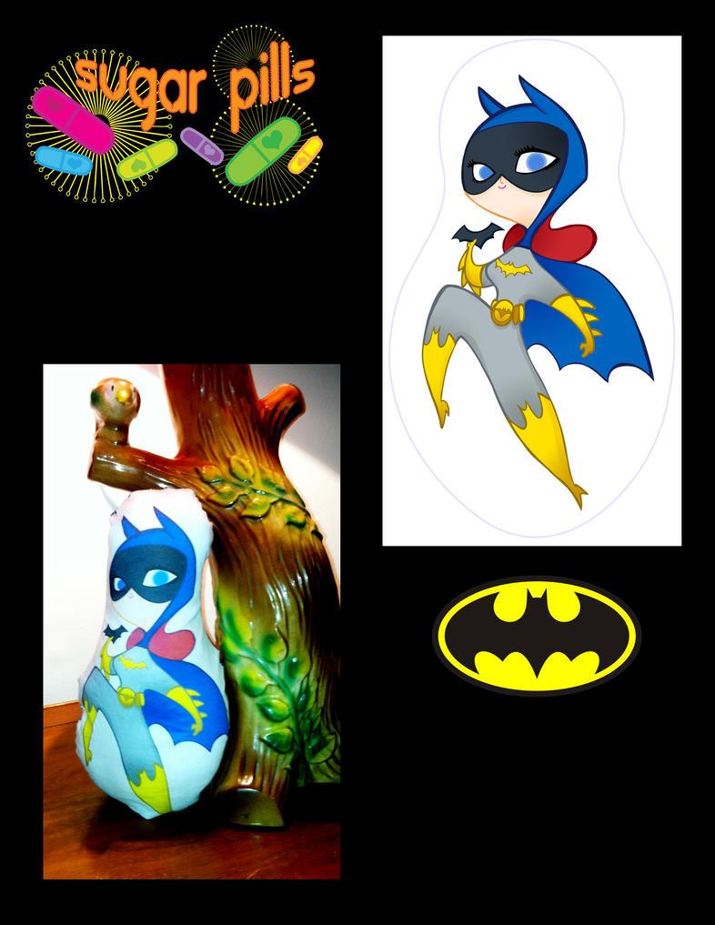 Sugar Pills- Batgirl by spicysteweddemon