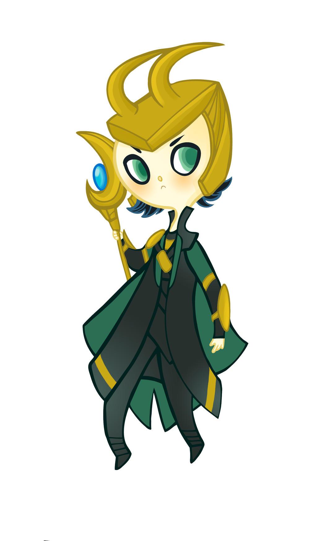Cutie Loki by spicysteweddemon