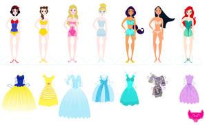 Disney Paper Dolls Part Two