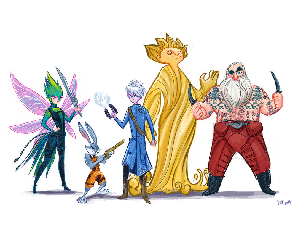 Rise Of The Guardians Of The Galaxy By Spicysteweddemon On