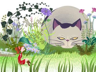 Ghibli's Arrietty by spicysteweddemon